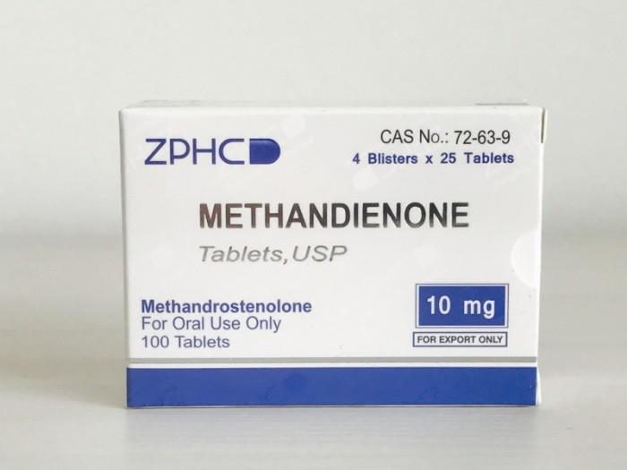 Methandienone 10mg/tab - цена за 100 таблеток.