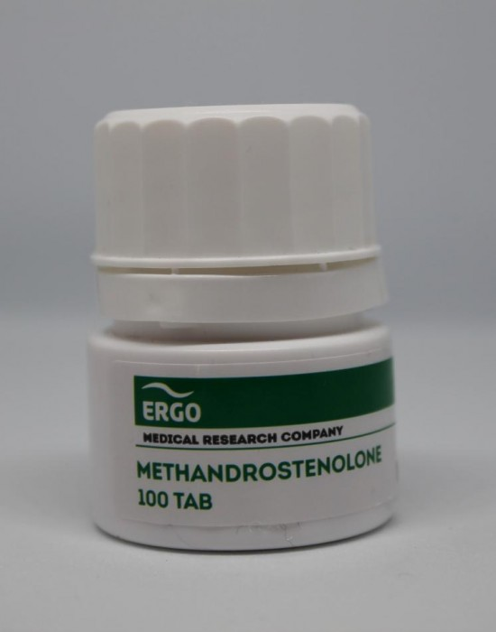 ERGO METANDROSTENOLON 10MG/TAB - ЦЕНА ЗА 100ТАБ